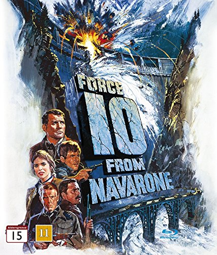 Force 10 From Navarone (1978) - Region Free Blu-ray, English audio & subtitles
