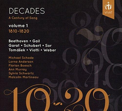 Florian Boesch - Decades: A Century of Song volume 1, 1810-1820 By Florian Boesch