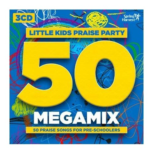 Various - Little Kids Praise Party 50 Megamix 3CD By Various