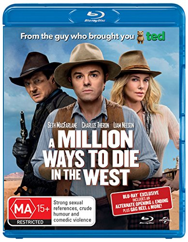 A-Million-Ways-to-Die-in-the-West-Blu-ray-UV-CD-TYVG-FREE-Shipping