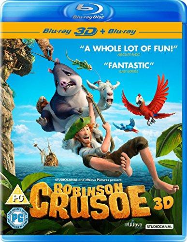 Robinson Crusoe 3D + 2D Blu-ray