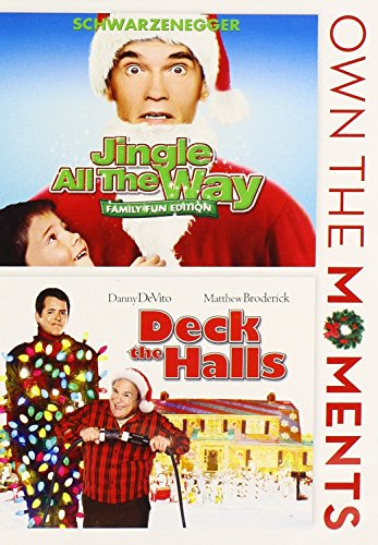 JINGLE ALL THE WAY/DECK THE HALLS. 2 FILM COLLECTION.