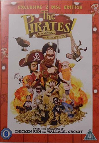The Pirates! In an Adventure with Scientists Exclusive 2-Disc Edition