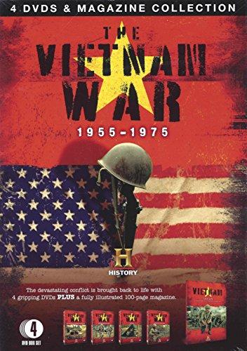 The Vietnam War 4 DVD's & Magazine Collection