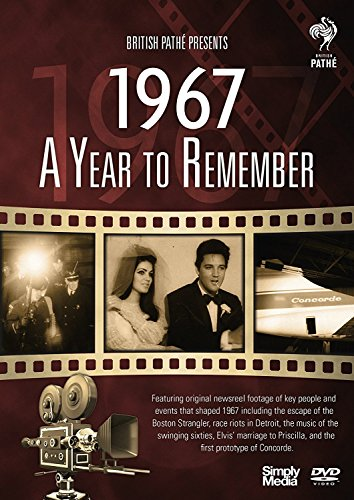 British Pathé News - A Year to Remember 1967 - 52nd Anniversary Birthday Gift