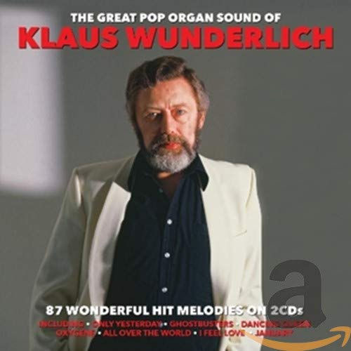 Klaus Wunderlich - The Great Pop Organ Sound Of By Klaus Wunderlich