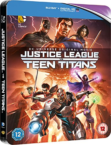Justice League Vs Teen Titans - Limited Edition Steelbook Blu-ray