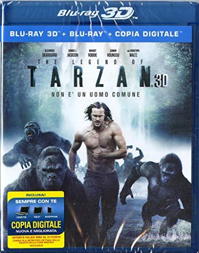 the legend of tarzan (3d) (blu-ray 3d+blu-ray) BluRay Italian Import