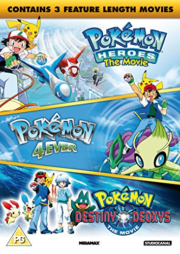 Pokemon Triple Movie Collection
