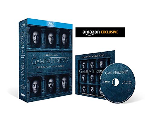 Game of Thrones - Season 6 with Bonus Disc (Exclusive to Amazon.co.uk)