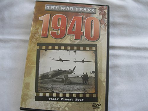 THE WAR YEARS - 1940 - THEIR FINEST HOUR - BLACK & WHITE DVD