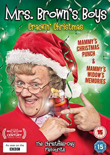 Mrs-Brown-039-s-Boys-Crackin-039-Christmas-Specials-DVD-CD-GYVG-FREE-Shipping