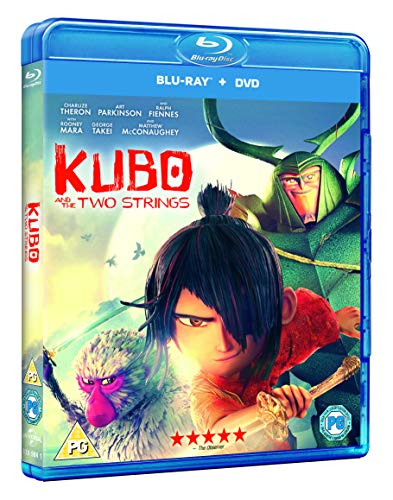 Kubo And The Two Strings (Blu-ray + Digital Download)