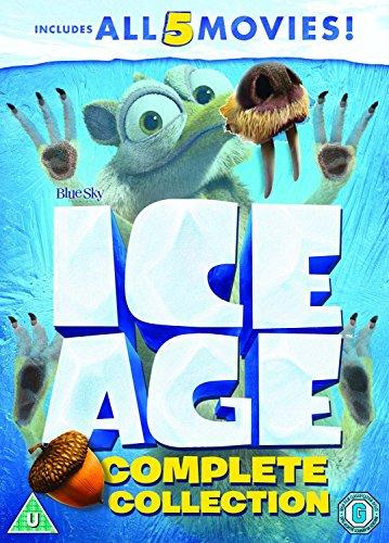 Ice Age 1-5 plus a Mammoth Christmas Box Set