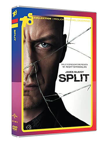 split DVD Italian Import