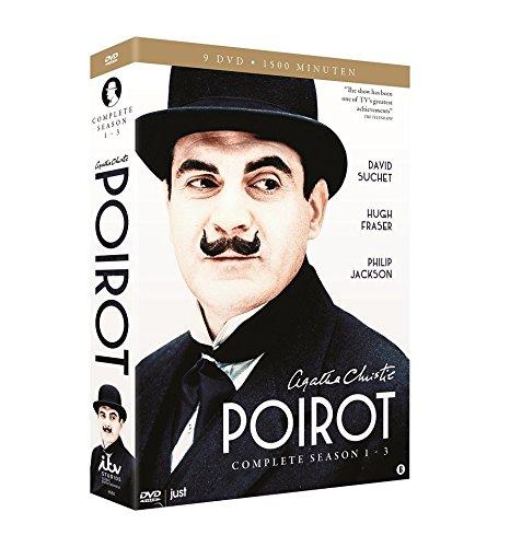 Agatha Christie's Poirot - Complete Series 1-3