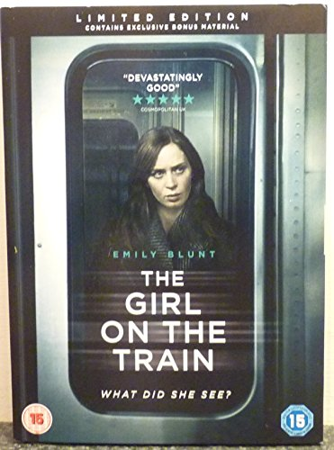 LIMITED EDITION The Girl On The Train DVD 2017 Version * EXCLUSIVE Bonus Material