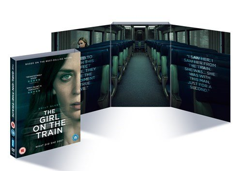 The Girl On the Train Limited Edition Alternative Exclusive Packaging