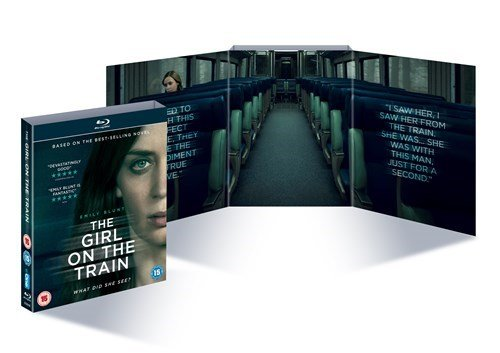 The Girl On the Train Blu Ray Limited Edition Alternative Exclusive Packaging
