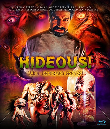 Hideous (a.k.a Deformed Freaks) Blu-ray