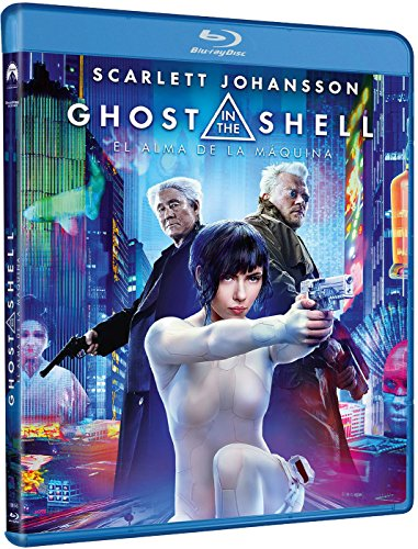 Ghost in the Shell (GHOST IN THE SHELL: EL ALMA DE LA MAQUINA - BLU RAY -, Spain Import, see details