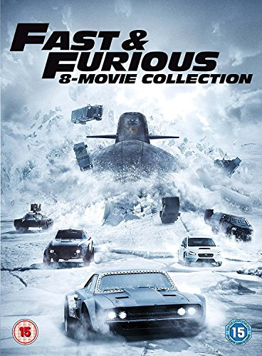 Fast & Furious 8-Film Collection DVD (1-8 Box Set)