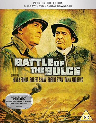 Battle Of The Bulge Blu Ray + DVD + Digital Dowload + Art Cards.