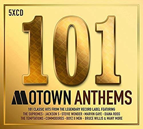 Various Artists - 101 Motown Anthems By Various Artists