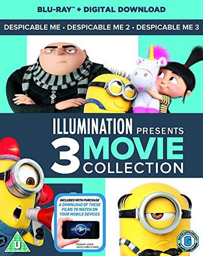 Despicable Me 1-3 Boxset (2D Blu-Ray + digital download)