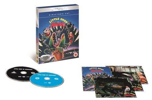 little shop of horrors UK Premium Collection Blu-Ray + DVD + Digital HD + Ltd Ed Art Cards Region Fr