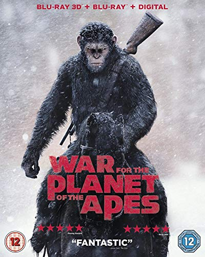 War For The Planet Of The Apes 3D BD