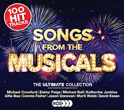 Various Artists - Ultimate Songs From The Musicals By Various Artists