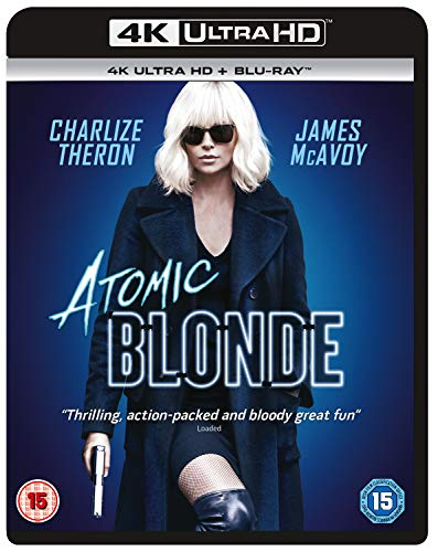 Atomic Blonde (4KUHD + Blu-Ray + Digital Download)