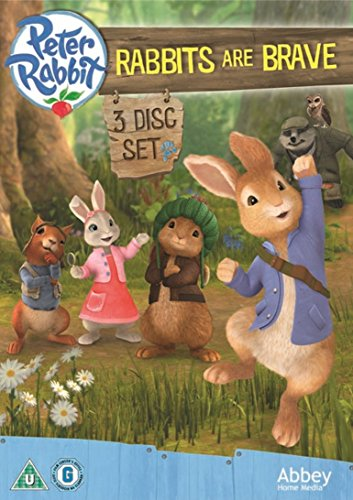 Peter Rabbit - Rabbits Are Brave Triple DVD Box Set