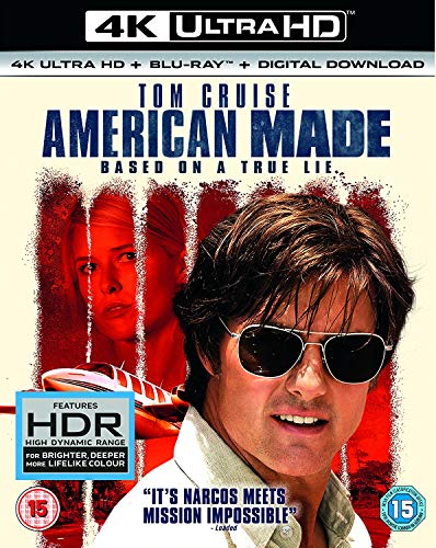 American Made (4KUHD + BD + Digital download)