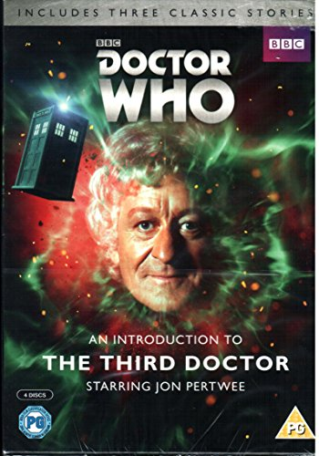 DOCTOR WHO - INTRODUCTION TO THE THIRD DOCTOR - THREE STORY R2 SET