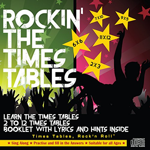 Education Box - Rockin' The Times Tables Audio CD. Times Tables Rock'n Roll™. By Education Box