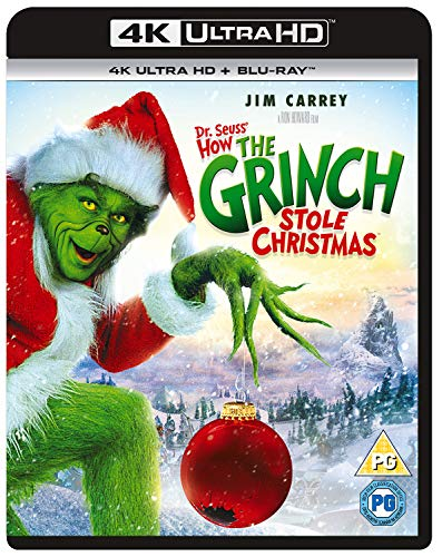 How the Grinch Stole Christmas (4K UHD + Blu-ray + UV)