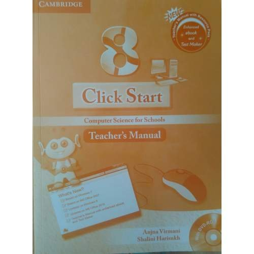 Click Start Level 8 Teachers Manual with DVD-ROM