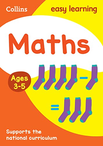 Maths Ages 3-5 By Collins Easy Learning