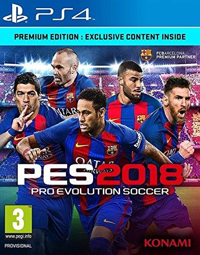 Pro Evolution Soccer 2018 - Premium Edition (PS4)