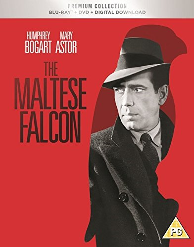 The Maltese Falcon Slipcased Edition Blu Ray / DVD / Digital Download / Art Cards / Region Free Blu