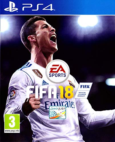 Fifa 18 (English/Arabic Box) (PS4)