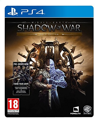 Middle Earth Shadow of War Gold Edition PS4 Game