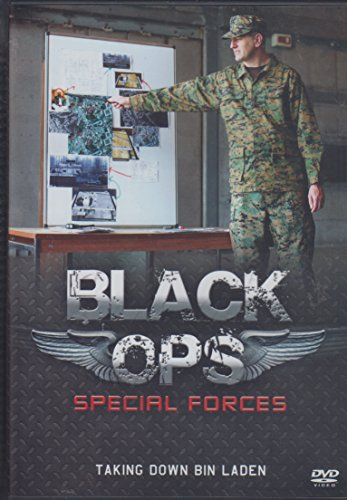 Black Ops Special Forces Taking Down Bin laden DVD