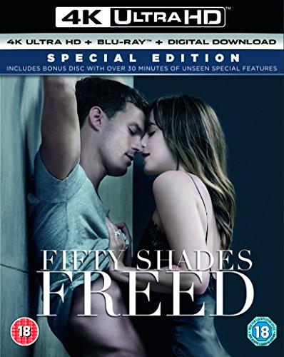 Fifty Shades Freed (4KUHD + Blu-ray + Bonus Disc + Digital Download)