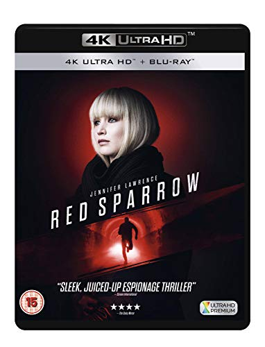 RED SPARROW RETAIL BLU-RAY DISC 4K + DD