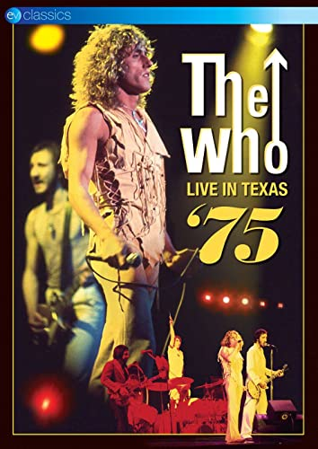 Who, the - The Who: Live In Texas '75