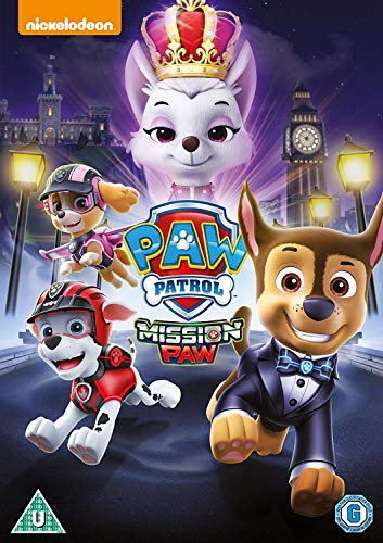 Paw-Patrol-Mission-Paw-DVD-2018-CD-7RVG-FREE-Shipping