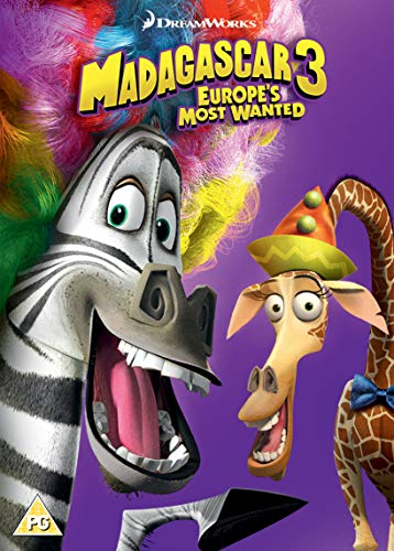 Madagascar 3: Europe's Most Wanted (2018 Artwork Refresh)